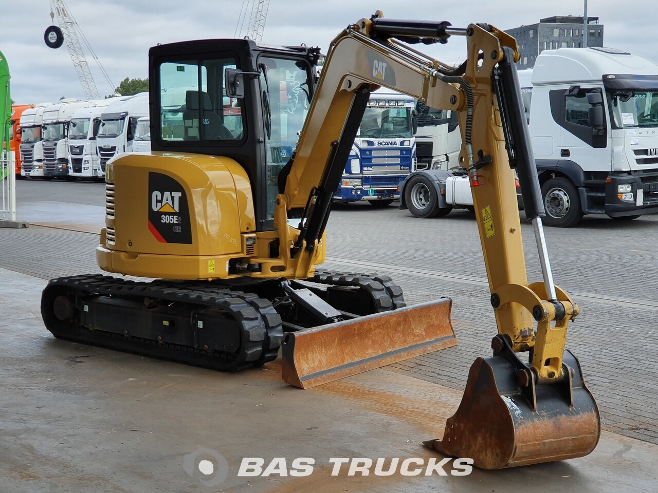 For sale at BAS Machinery: Caterpillar 305E2 Track 01/2018