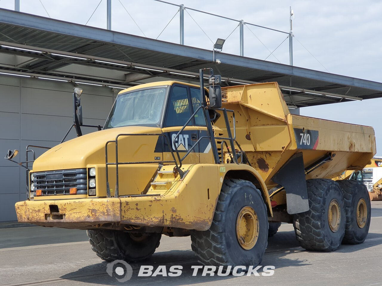 For sale at BAS Machinery: Caterpillar 740 6X6 01/2008