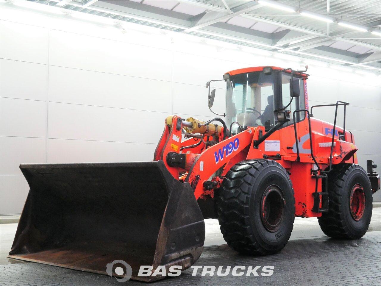 For sale at BAS Machinery: FIAT Kobelco W190 4X4 01/2005