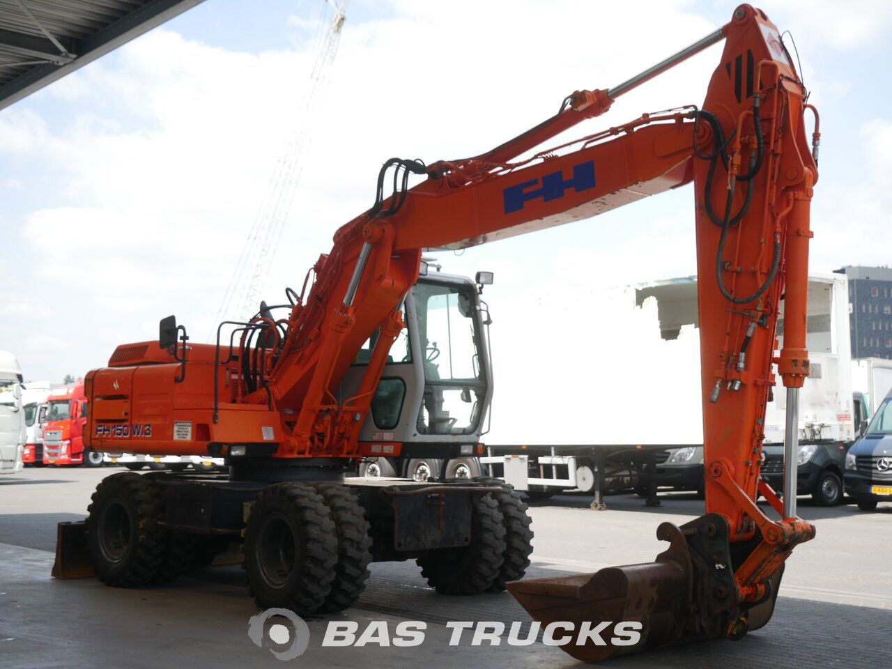 photo of Used Construction equipment Fiat Hitachi FH150-3 4X4 1999