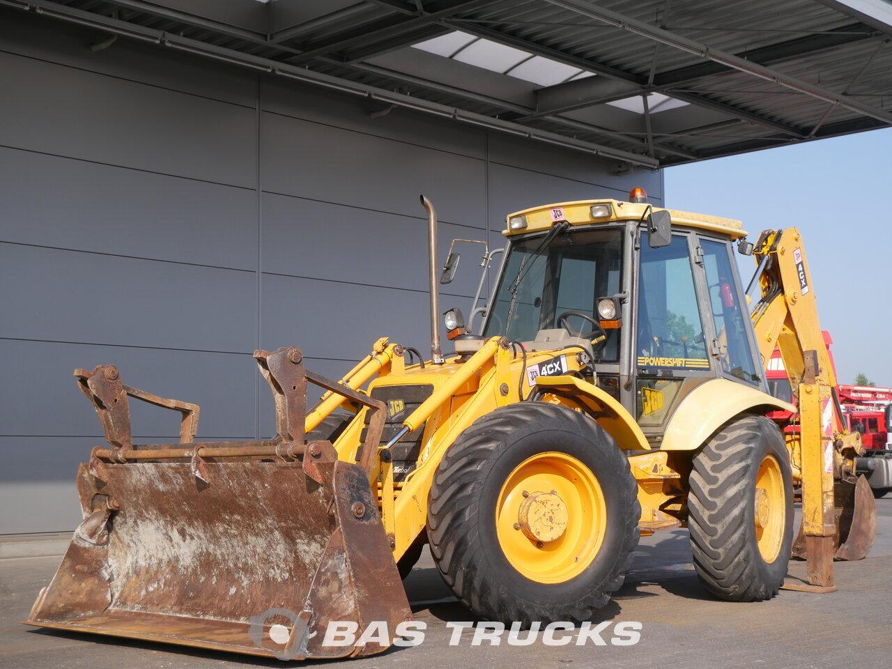Jcb 4cx Construction Equipment 18200 Bas Machinery Fuse Box Location Photo Of Used 4x4 1998