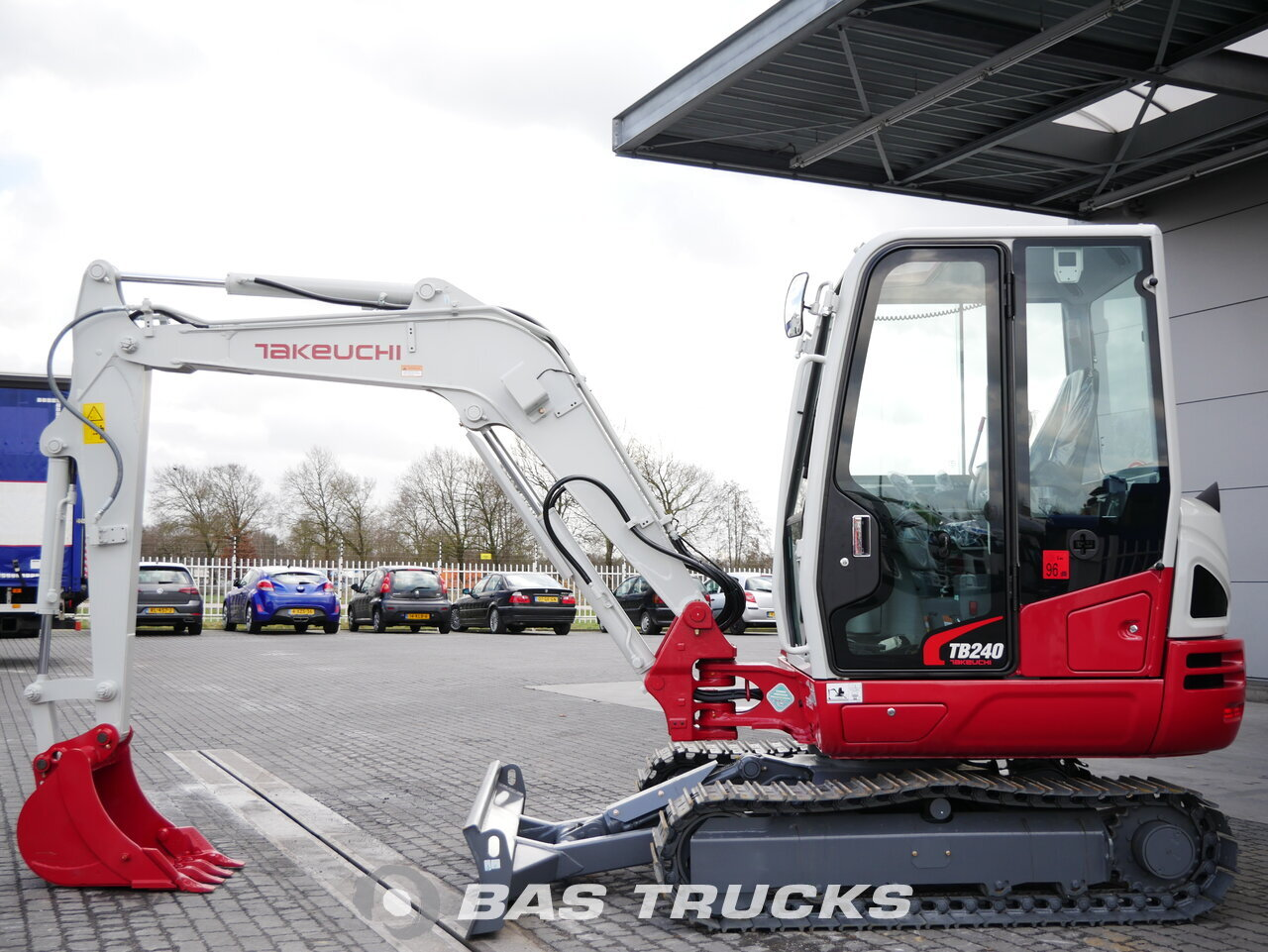 For sale at BAS Machinery: Takeuchi TB240 Track 01/2018