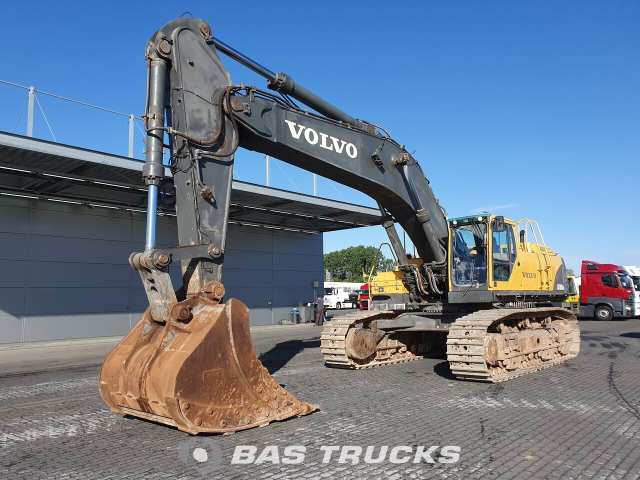 For sale at BAS Machinery: Volvo EC700B LC Track 01/2007
