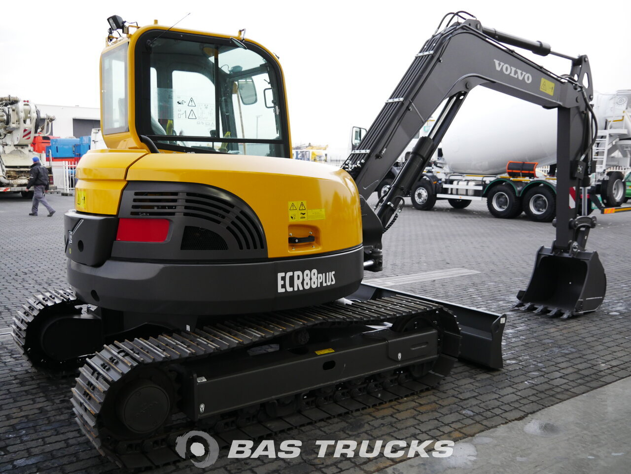 For sale at BAS Machinery: Volvo ECR88 PLUS Track 01/2018