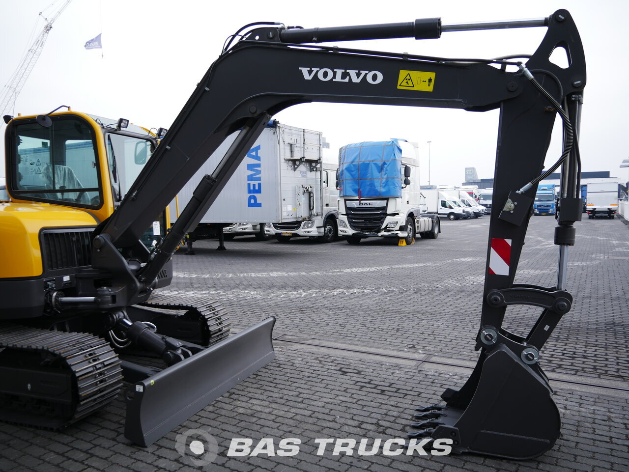 For sale at BAS Machinery: Volvo ECR88 Track 01/2018