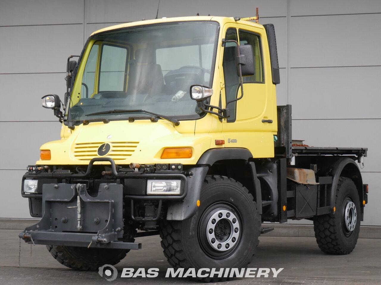 Mercedes Unimog U400 2001 Camiones Caja Abierta Bas Machinery