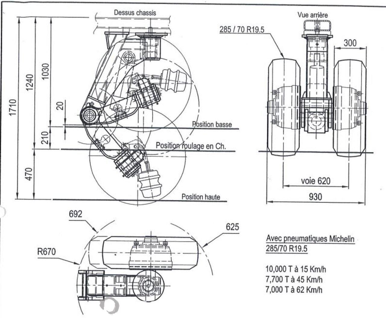 Mercedes Actros 4160 S 2007 Tractorhead + Semi-trailer